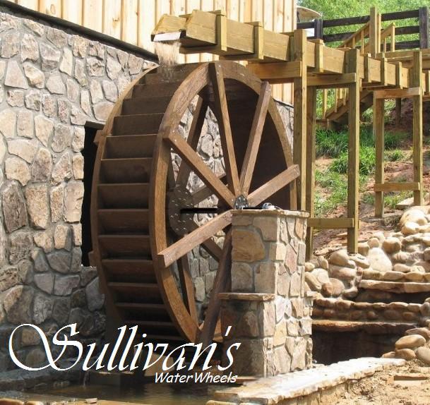 Wheel Mill 8' Mill Wheel on a Grits Mill