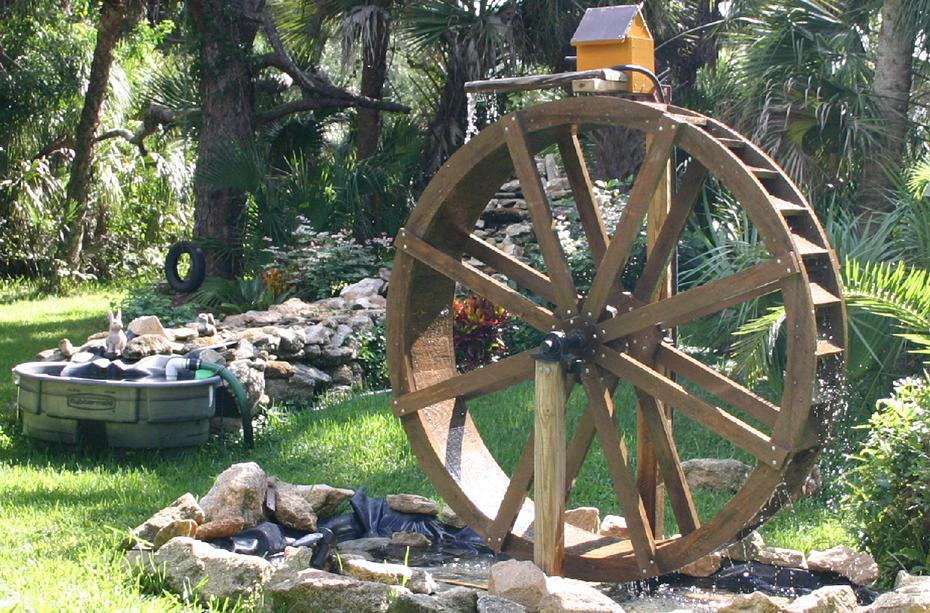 Genial 6 Foot WATERWHEEL Kit. Garden WaterWheel Kit By Sullivan WaterWheels