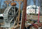 8' mill wheel and barrel kit by sullivan.