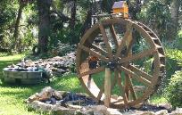 6 Foot WATERWHEEL Kit. Garden WaterWheel Kit By Sullivan WaterWheels