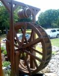 6 foot waterwheel and barrel kit to TX