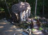 6 Foot GARDEN WATERWHEELS