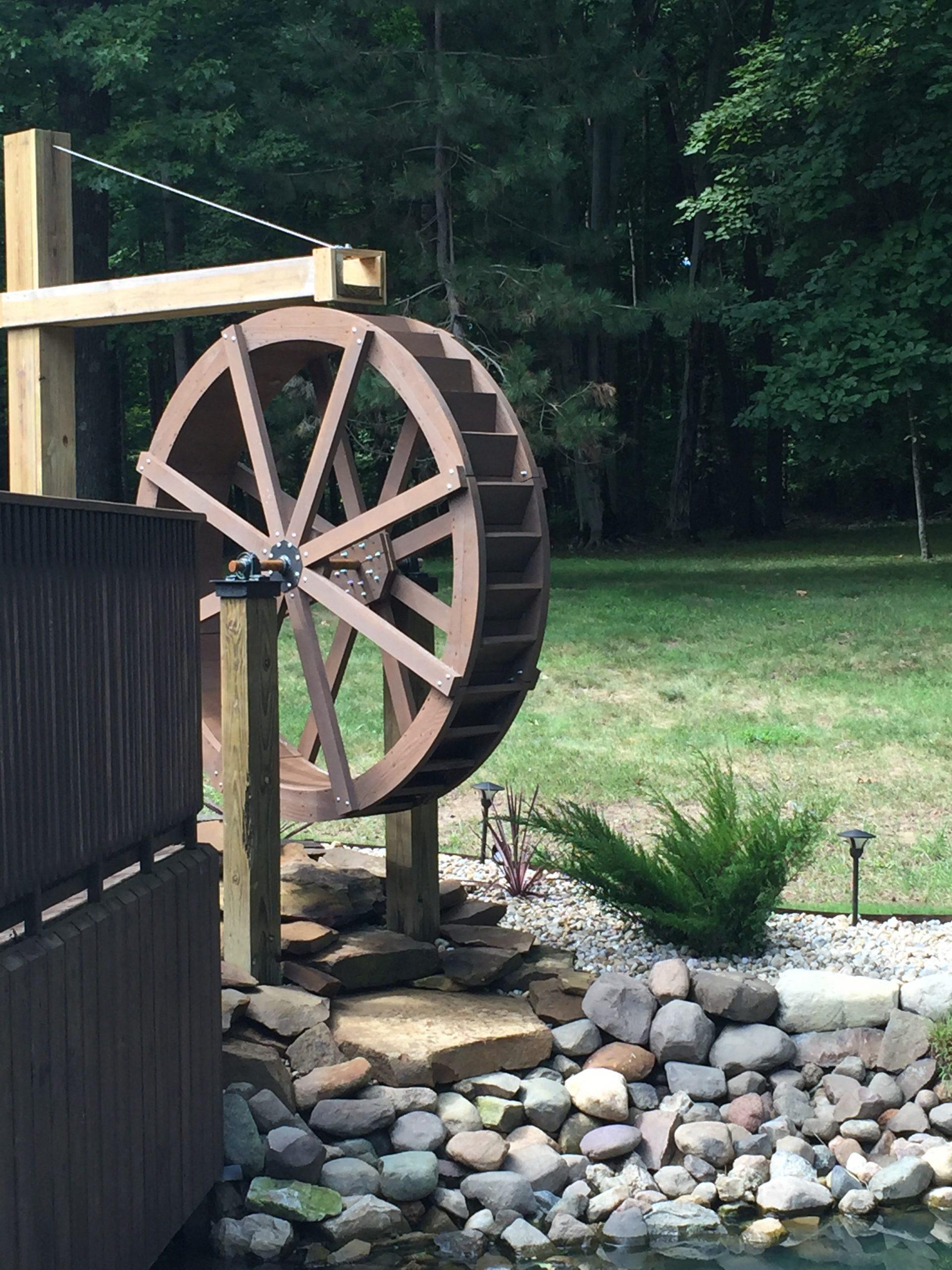 6ft waterwheel